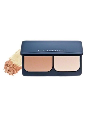 Young Blood Pressed Compact Mineral Foundation Honey - Sıkıştırılmış Fondöten 8 gr Ten